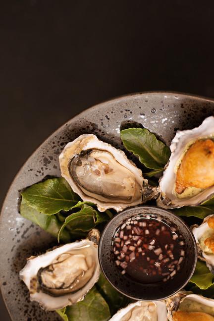 Oysters - Tempura & Fresh Brownsea