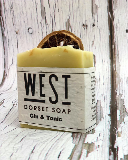 West Dorset Soap Gin & Tonic