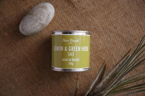 Lemon & Green Herb Salt