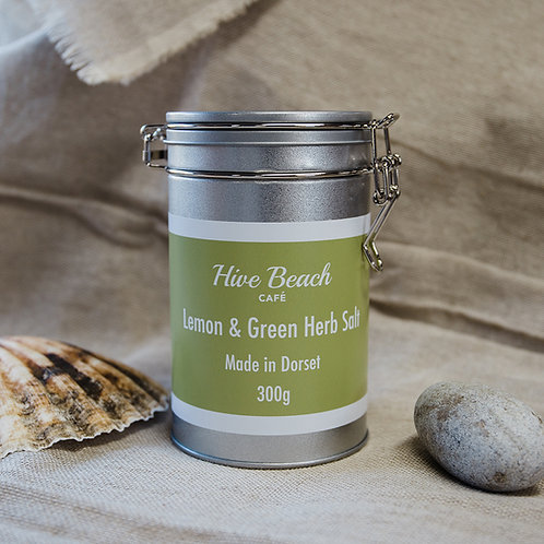 Large Lemon & Green Herb Salt