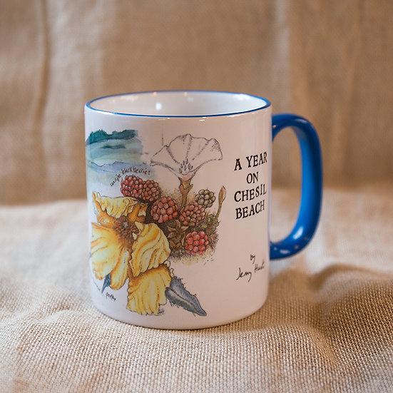 Jenny Hunt 'A Year on Chesil Beach' mug