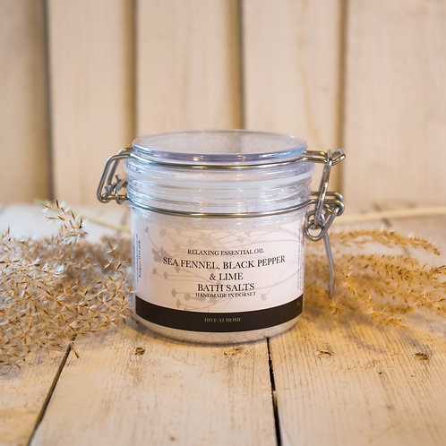 Sea Fennel, Black Pepper & Lime Bath Salts