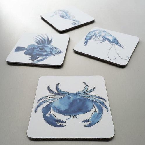 SeaKisses Coaster Sets