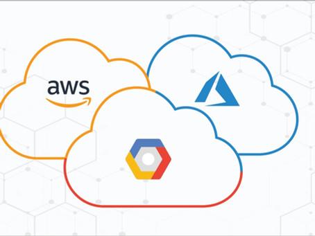 A Brief Look at The Major Cloud Platforms: AWS, Azure & GCP