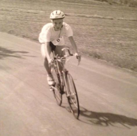 Einer meiner ersten Triathlonwettkämpfe. Damals noch mit Baumwoll-T-Shirt ;-)