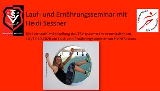 Laufseminar für TSV Assamstadt