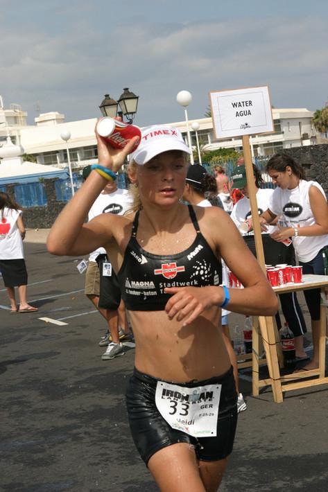 Ironman is an eating competition. Alles steht und fällt mit der Energieaufnahme.