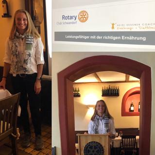 Vortrag beim Rotary Club in Schwandorf