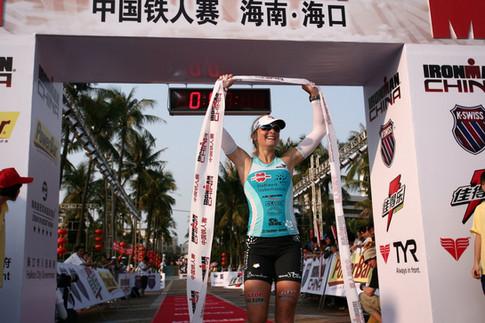 Ironman China. Durch den Sport hatte ich die Möglichkeit die Welt zu sehen :-)