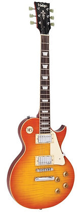V100HB Flamed Honeyburst