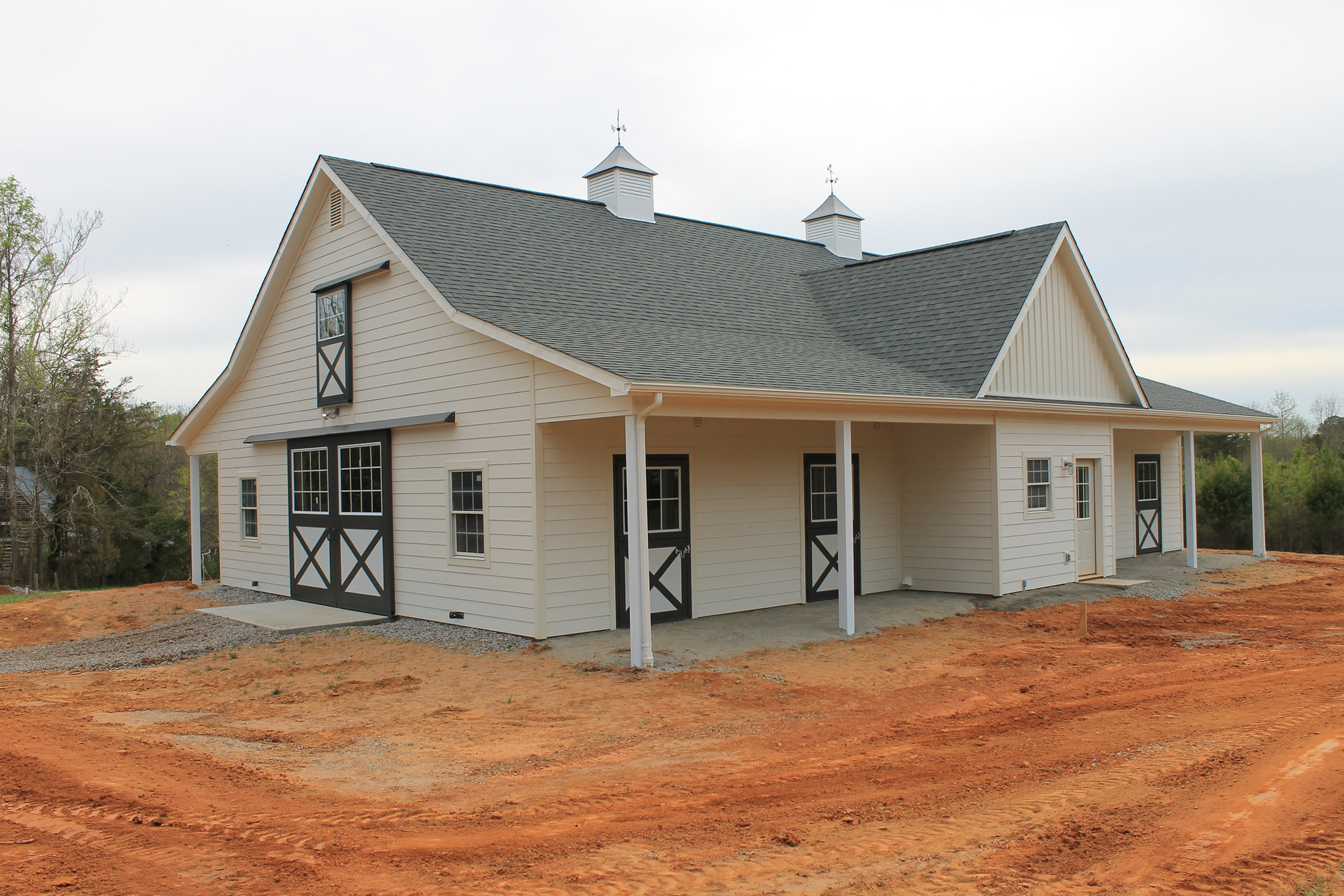 Hardi Plank Siding >> Virginia Barn Company: Pole Barn Builder, VA | Horse Barn, Charlotte Crt House, VA