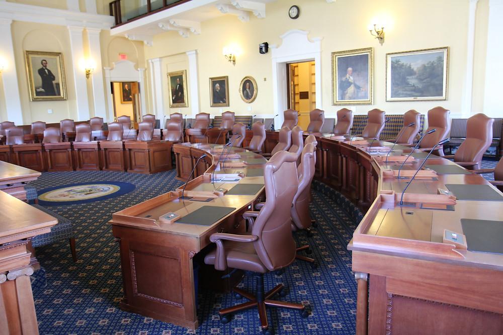 Maine Senate floor