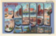 Vintage Bangor Postcard