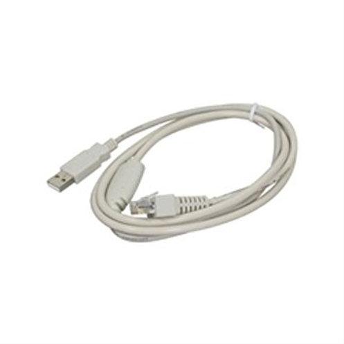 Kabel RS232 weiss zu Glancetron MKL 1290