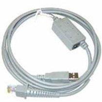 Datalogic Anschlusskabel CAB-412, USB, glatt, schwarze, graue