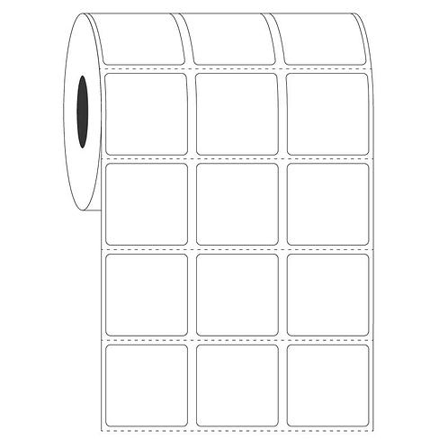 Etiketten PE Folie 25.4 x 20.6, 3-bahnig