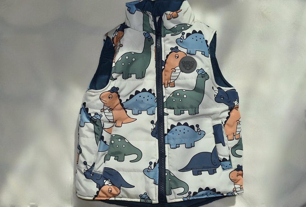 Reversible Dino Vest