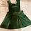 Thumbnail: Soft Corduroy Woodland Green Pinafore Dress