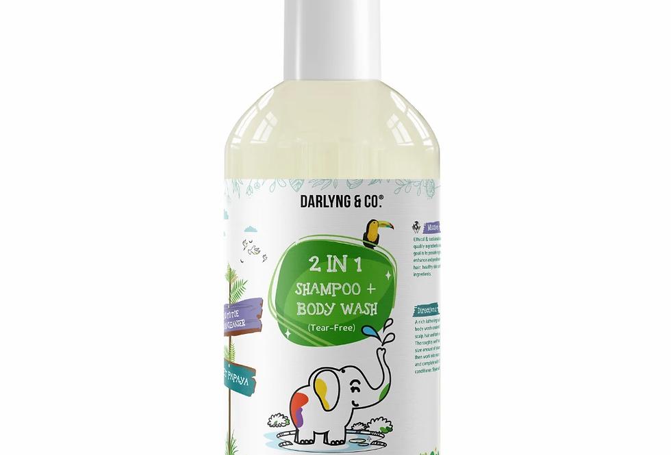 2 in 1 Shampoo & Body Wash