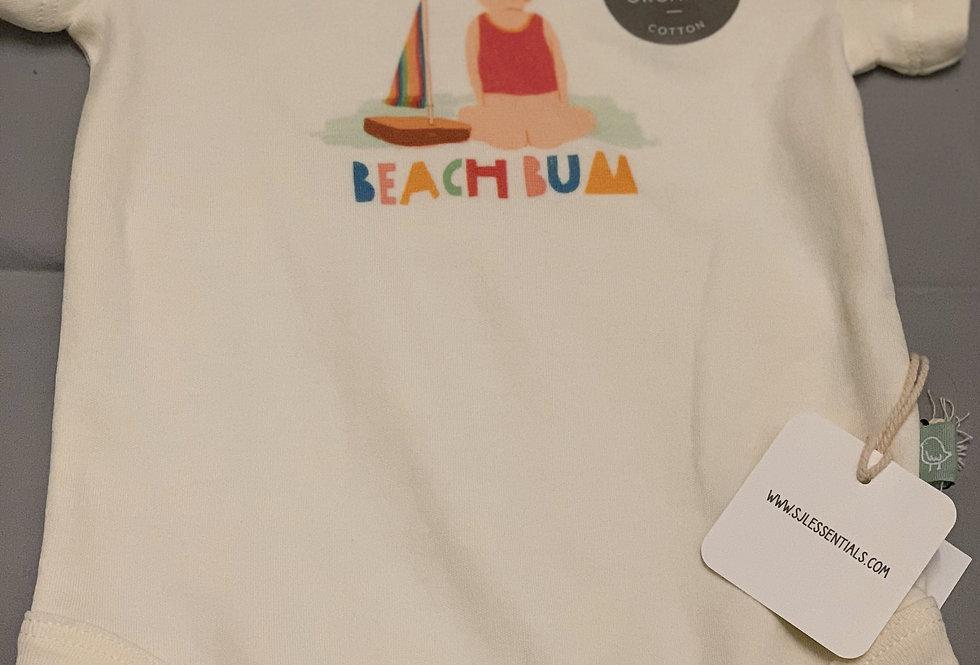 Beach Bum Graphic Bodysuit