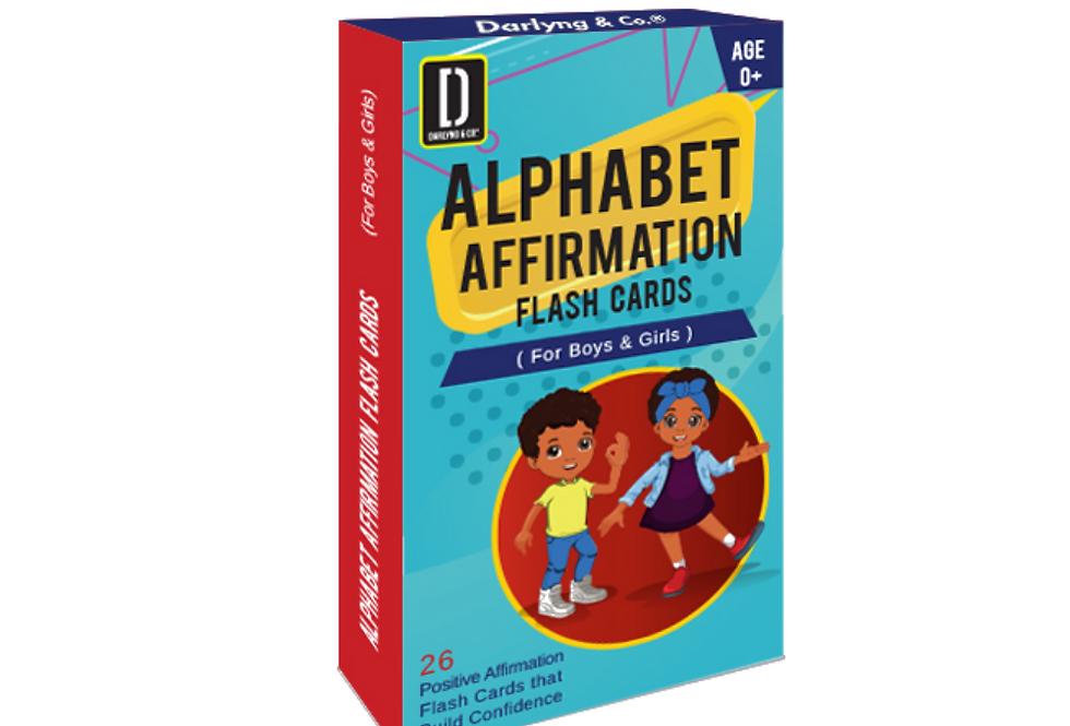 Alphabet Affirmation Flash Cards