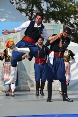 Dionysos Dancers at Heritage Days (Credit: Steve Makris)