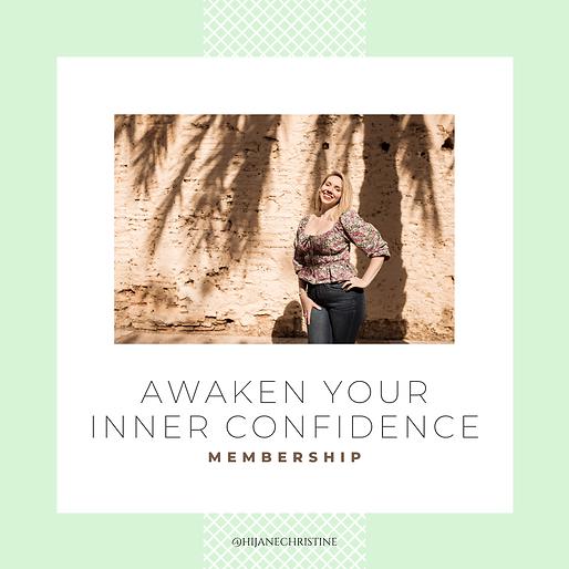 Awaken Your Inner Confidence Membership HSP Mindset Coach Jane Christine