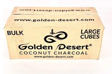 12 x  Golden desert hookah coconut charcoal   864 Large cubes = 12 kgs
