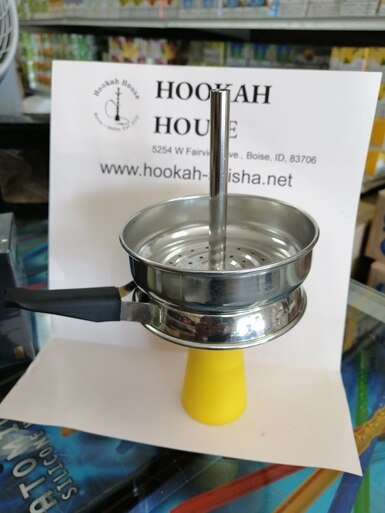 Silicone Clay Hookah Bowl + Heat Management System  - FREE SHIPPING
