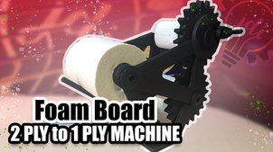 2 ply to 1 ply Machine