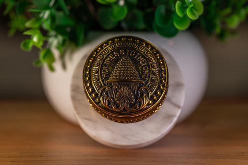 SLC Temple Doorknob Paperweight Bronze