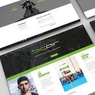 Big Air webdesign