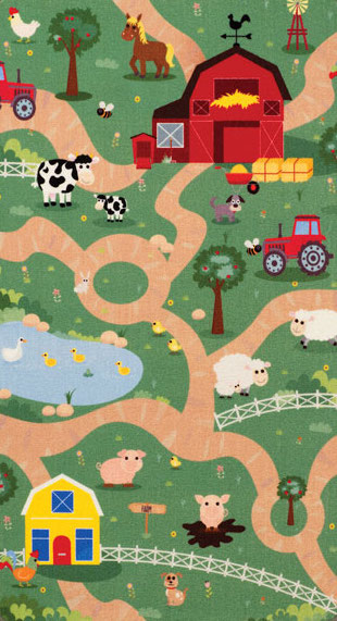 Playtime City/Farm (Reversible)