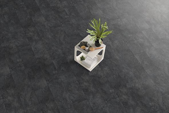 Egger Kingsize Aqua Tile - Cremento Blac
