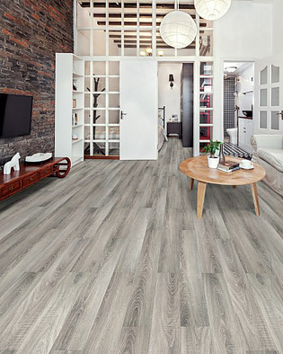 Prestige 12mm (AC4) - Platinum Grey Oak