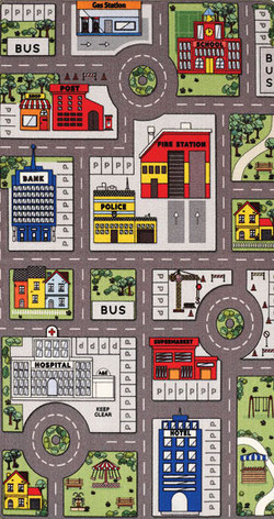 Playtime City/Farm (Reversible)