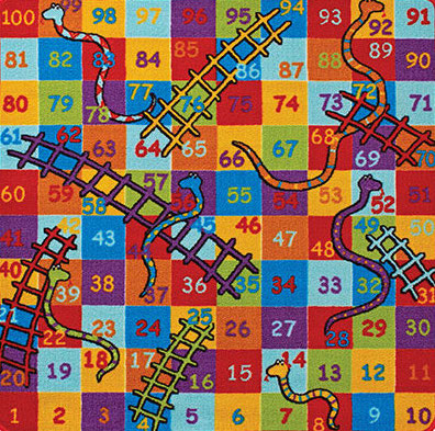 Playtime Snakes & Ladders