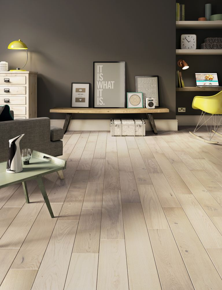 Simply Oak Engineered Pale Oak S020