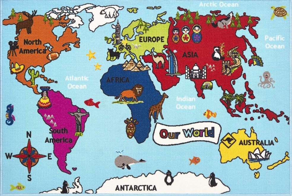 Bambino World Map