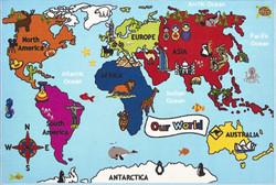 Bambino World Map