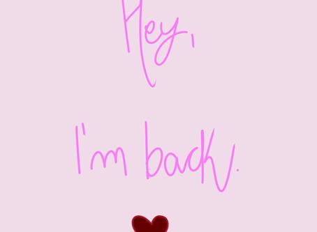 #I'mBack!