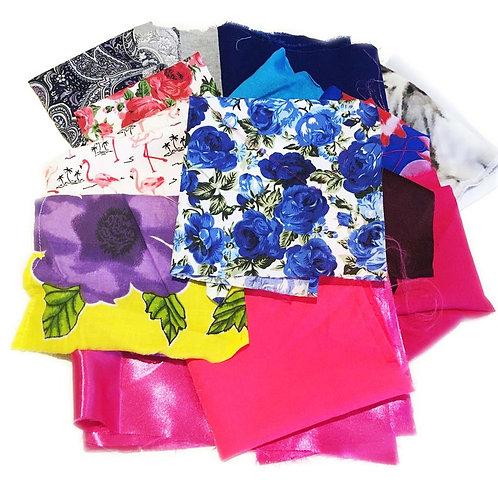 Mixed Fabric Remnant / Scrap Packs