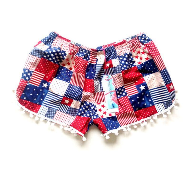 USA PomPom shorts