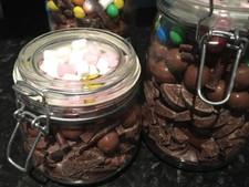 Chocolate Treat Jars