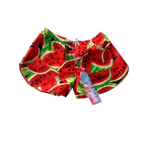 Children's Red Melon Shorts