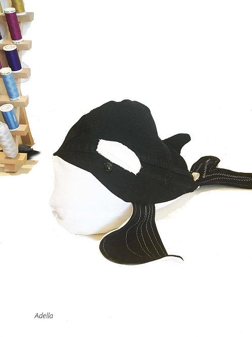 ADELLA Handmade Upcycled Denim  Shark Plush for SEDNA Fundraiser