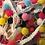 Thumbnail: 1M Large Colourful Pom Pom Trim 10mm Haberdashery