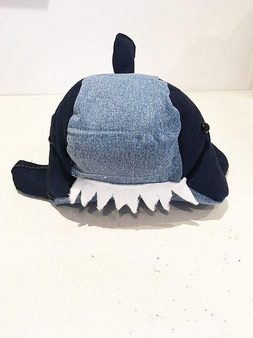 SONNY Handmade Upcycled Denim  Shark Plush for SEDNA Fundraiser