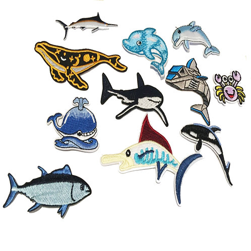 Ocean Inspired Mix Pack of Patches