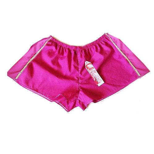 Silver Stripe Lightweight Cotton Sports Shorts